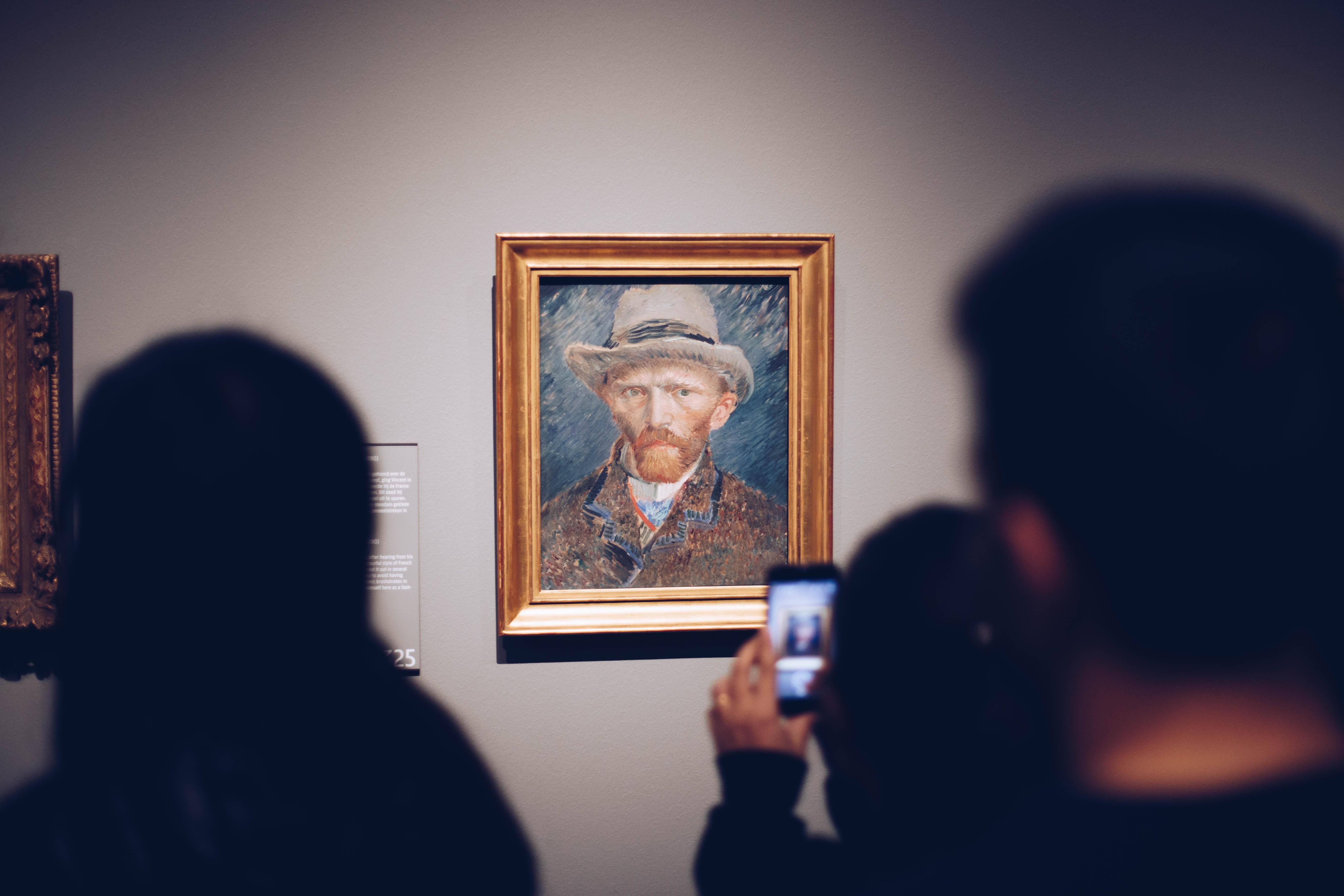 Van Gogh in a frame